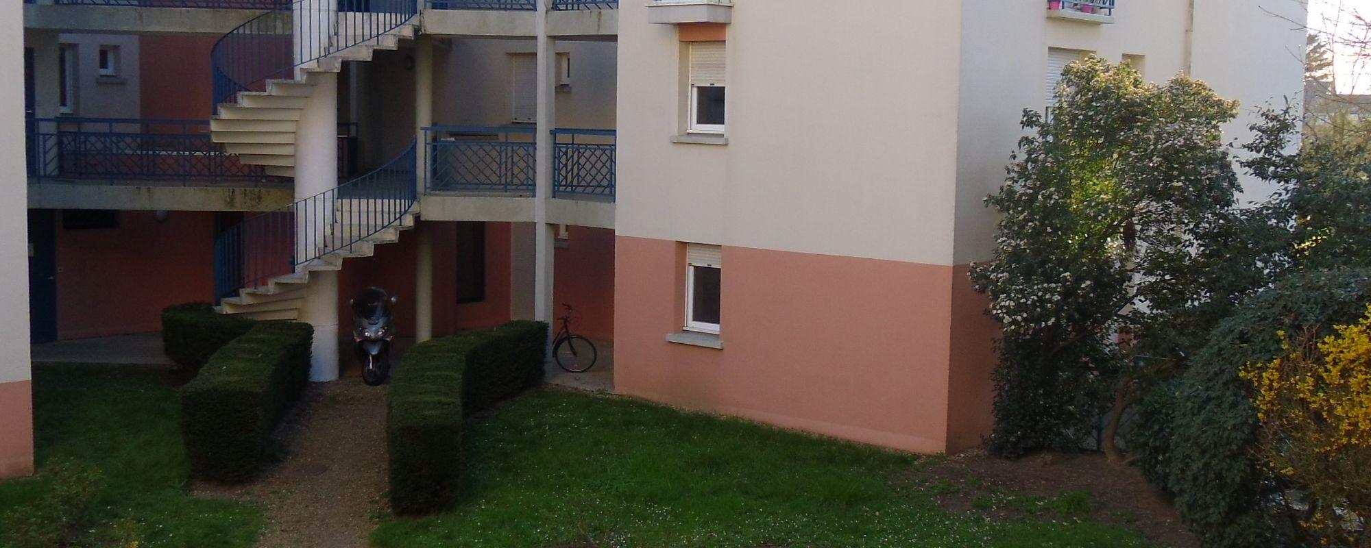Appartement 30.93m² LA RICHE QUARTIER BOTANIQUE