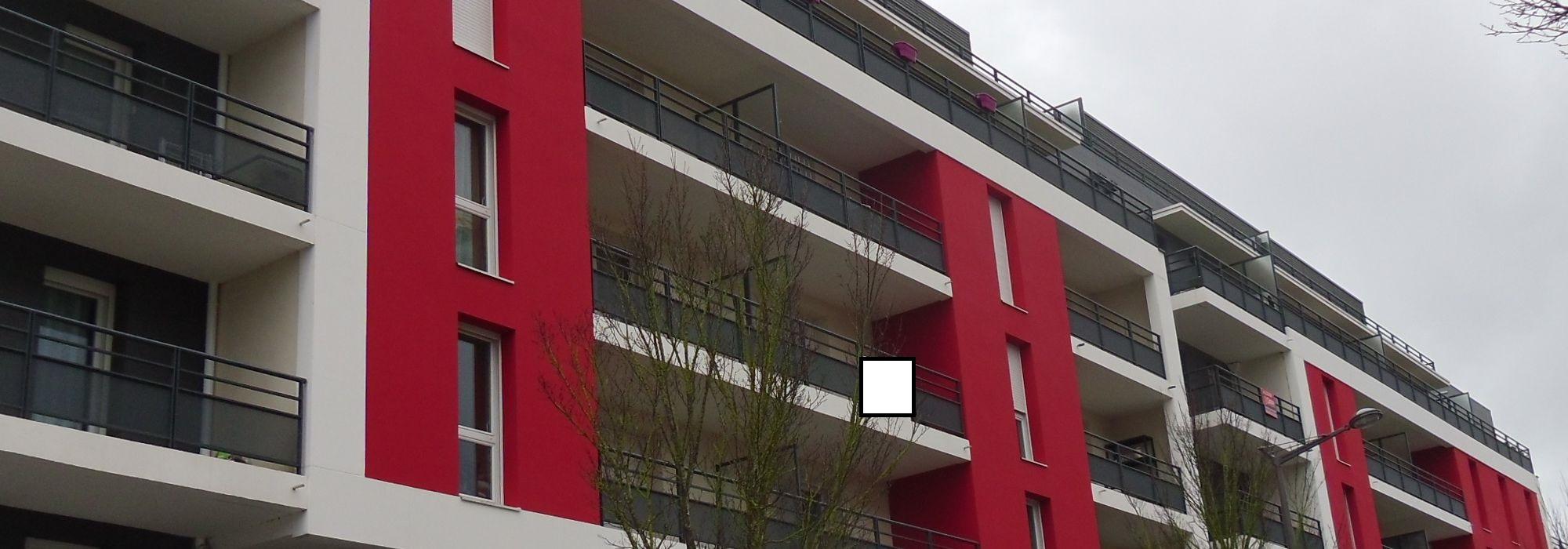 TOURS MAGINOT – F1bis dernier étage avec TERRASSE