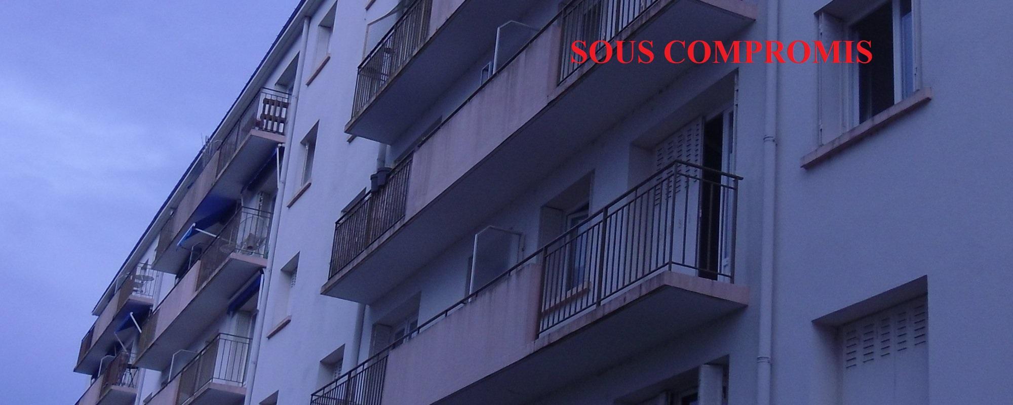 Appartement 2 pièces, balcon, parkings  et cave